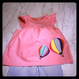 Mini Boden pants and top
